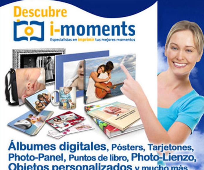 Descárgate nuestro programa I-Moments para la realización de libros , etc...