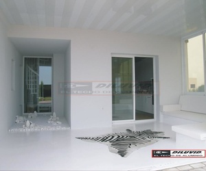 Techo de aluminio Blancos, brillo o mate