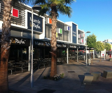 Muerde la Pasta C. C. Luz Shopping Jerez de la Frontera, Cádiz.