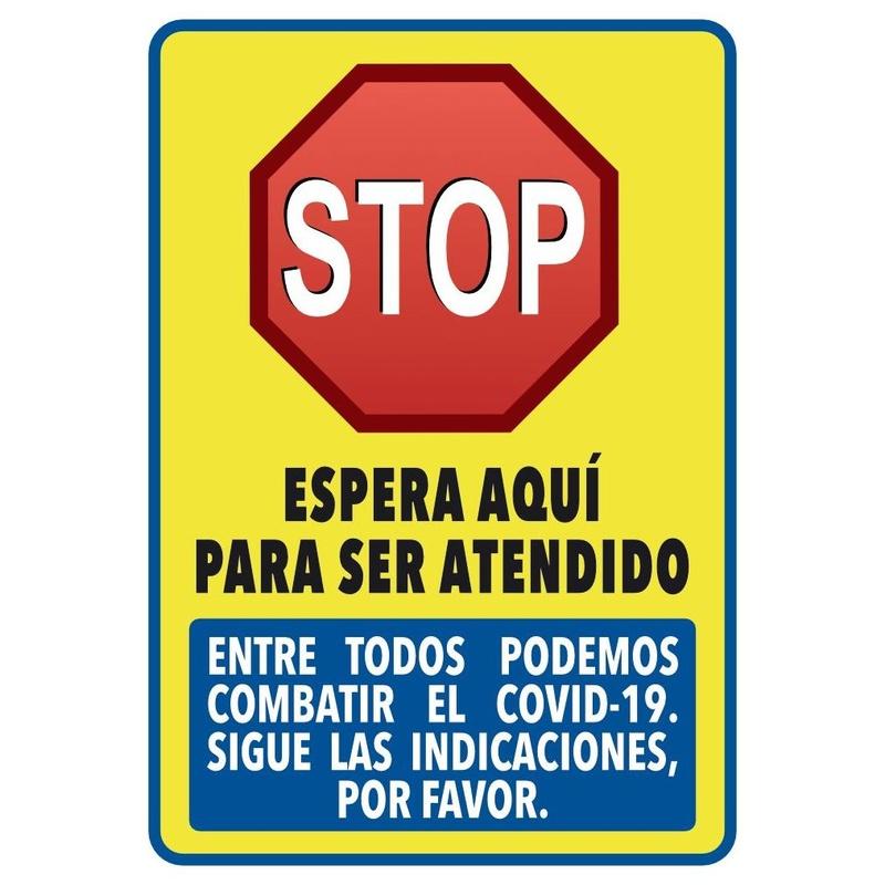 """Pancarta """"Stop"""" 31x44cm: Productos y servicios de Prieto Larrey"""