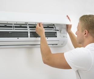 Instalación y reparación de equipos de climatización