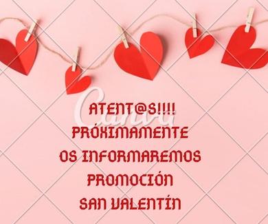 Próxima promoción San Valentín
