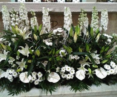 Decoraciones florales para bodas