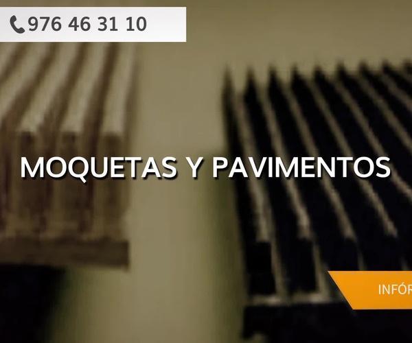 Pavimentos de PVC en Zaragoza - Tenadi