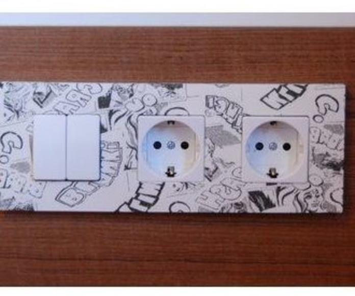 Instalaciones eléctricas: ¿Qué hacemos?  de Cuberes Planchería, S. L.