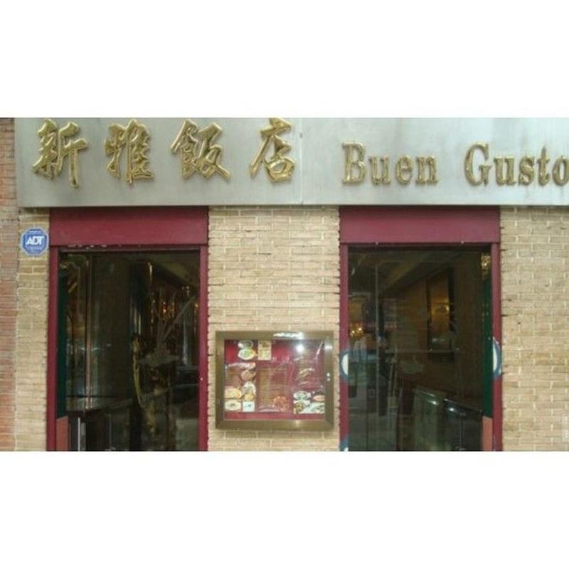 Auténtica comida china: Productos y servicios de Buen Gusto