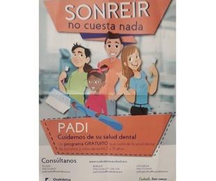 Plan dental infantil de Osakidetza (PADI)