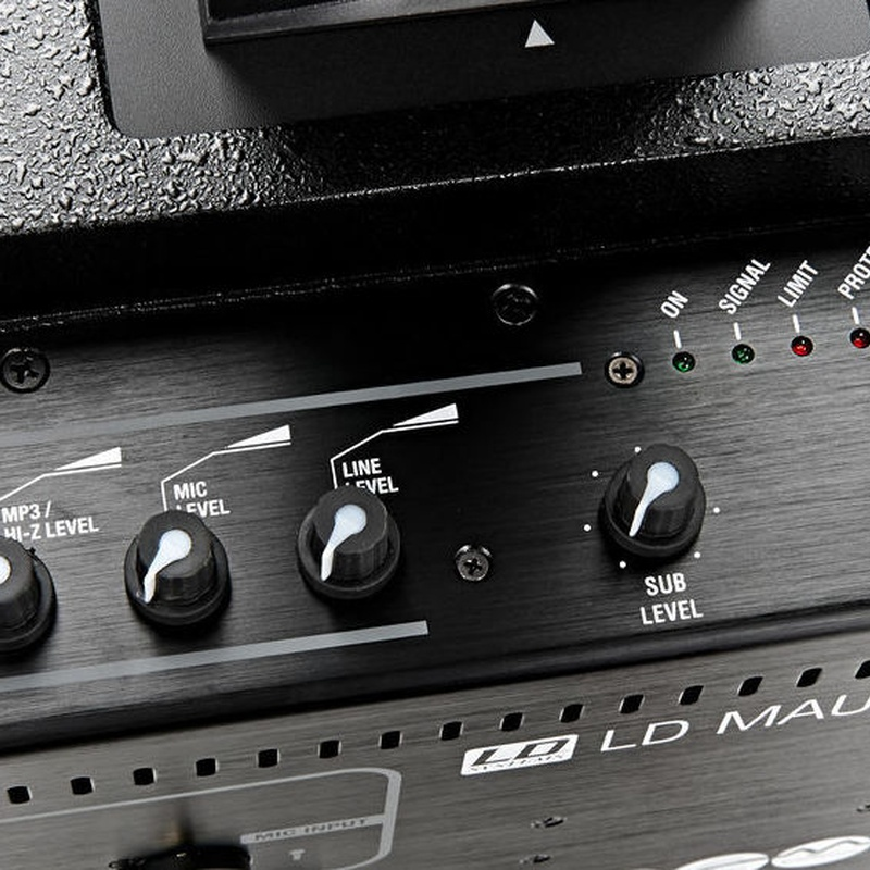 Equipo de sonido plug and play de LD Systems 400w
