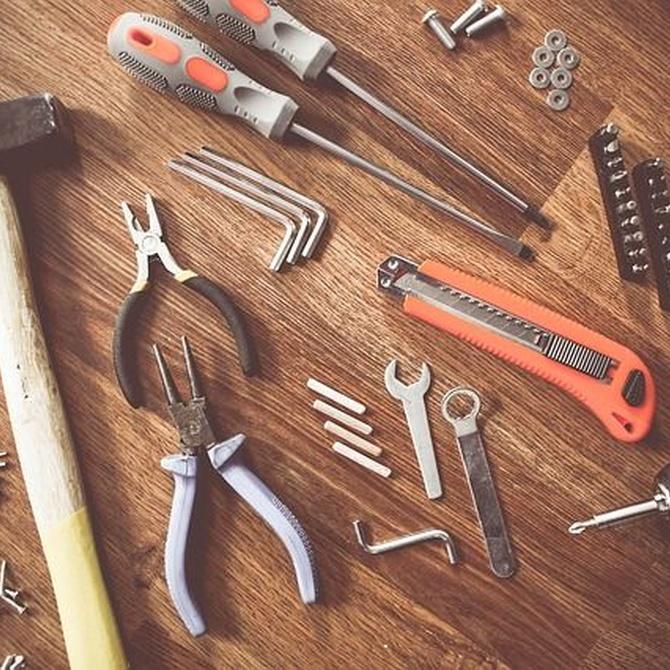 De la lija a las pinzas: las mejores herramientas
