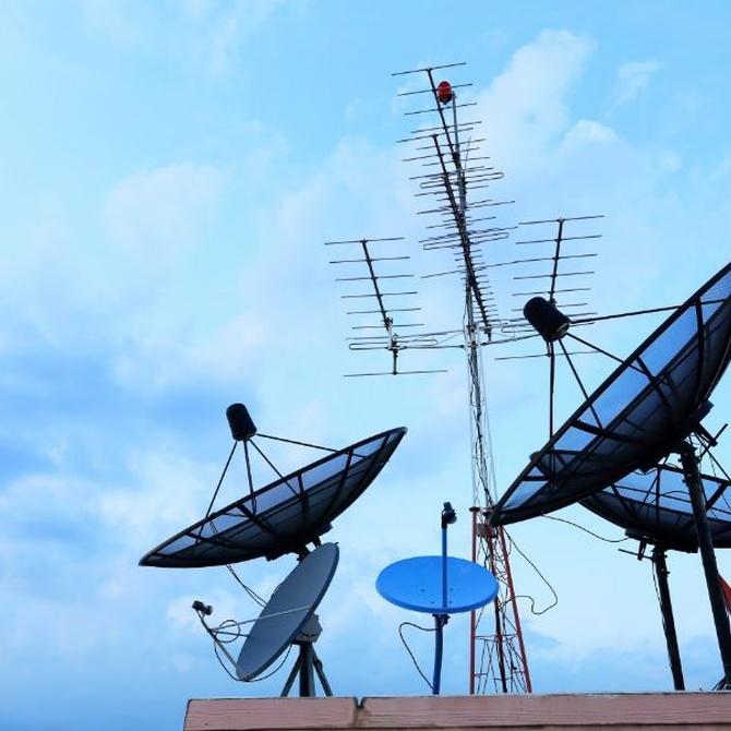 Los diferentes tipos de antenas
