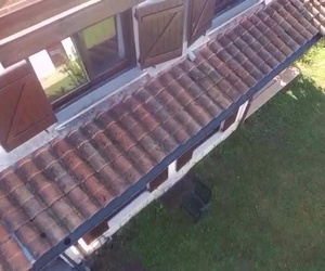 Inspeccion de tejados mediante drom