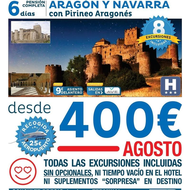 Aragón y Navarra: Ofertas de Viajes Global Sur