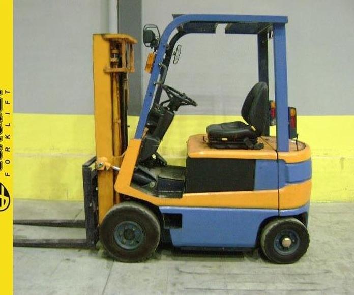Carretilla eléctrica TOYOTA Nº 3698: Productos y servicios de Comercial Euroyen, S. L.