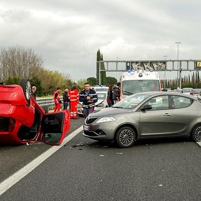 Te ayudamos si tienes un accidente de tráfico