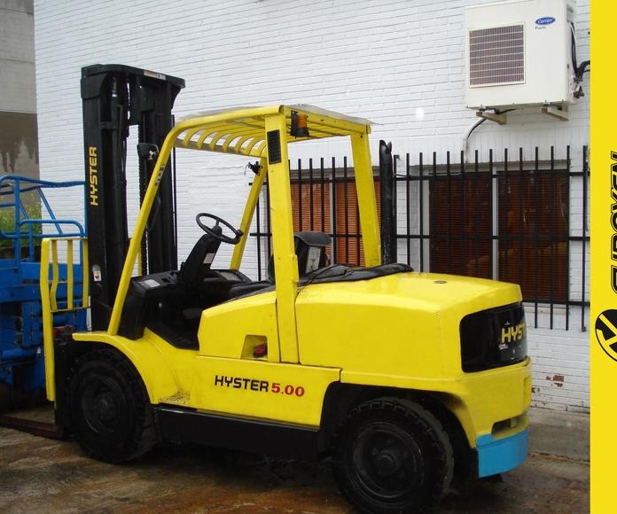 Carretilla diesel HYSTER Nº 6082: Productos y servicios de Comercial Euroyen, S. L.