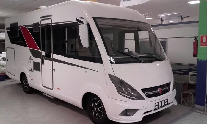 Autocaravana Integral Bürstner Elegance I695 Nueva!!