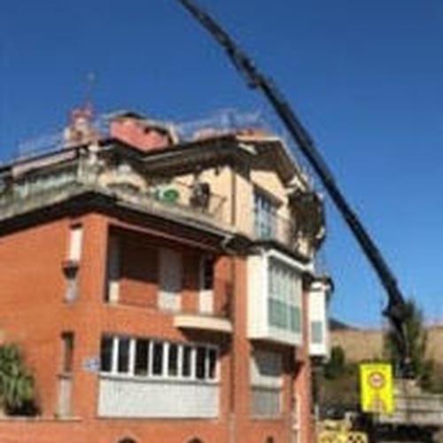 Transporte de mercancías en Donostia | Grúas y Transportes Eraukin