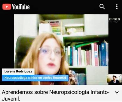 Aprende sobre Neuropsicología Infantil