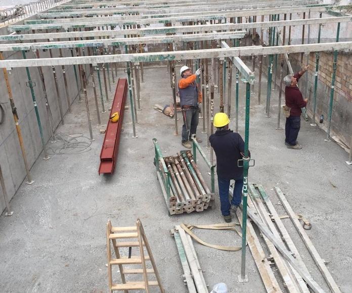 Empresa de estructuras de hormigón