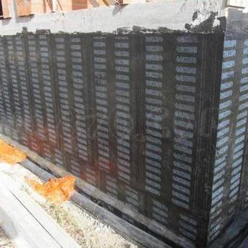 Muros enterrados: Servicios de Impermeabilizaciones Manuel Núñez Montero