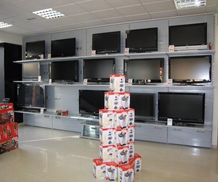TIENDAS DE ELECTRODOMESTICOS: Instalaciones de Europea de Estanterías