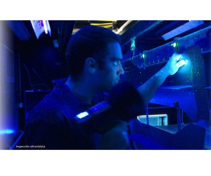 Inspección ultravioleta