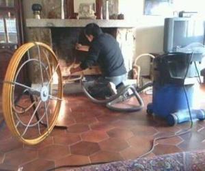 Limpieza de chimeneas y estufas de leña