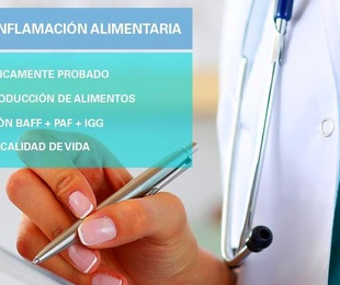 TEST DE INFLAMACIÓN ALIMENTARIA. BIOMARKERS TEST