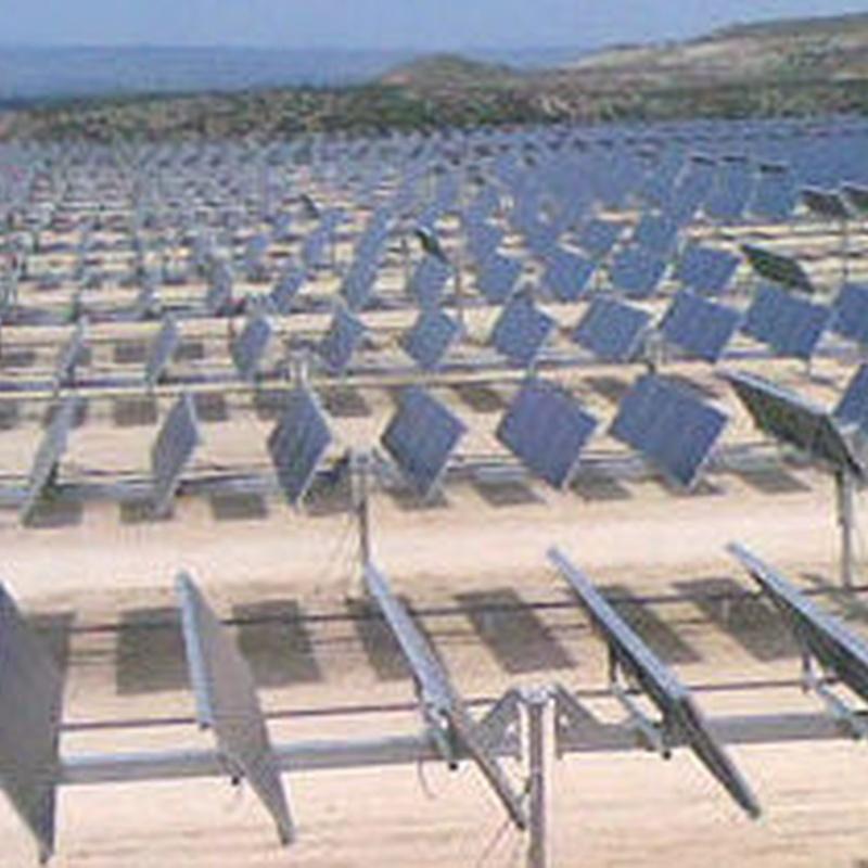 Cimentaciones en huertas solares: Servicios de Perforaciones Jocal