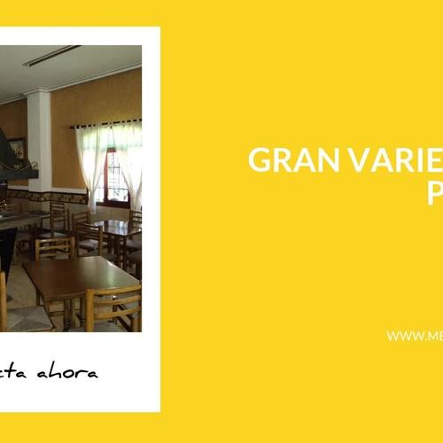 Cocina casera en El Valle de Guadalest: Mesón La Mezquita
