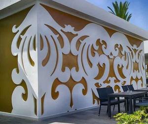 Mural realizado en AquaPanel en el Hotel Riu Palace Meloneras en su última reforma