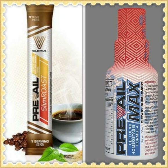 Slimroast y Prevail Max