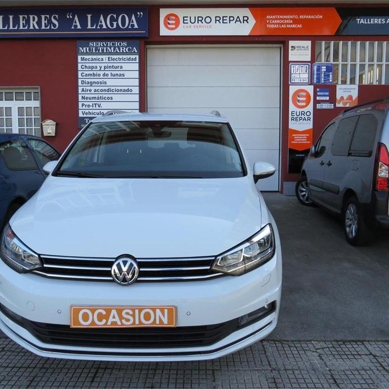 Volkswagen Touran 2.0TDI 150CV DSG Highline:  de Ocasión A Lagoa