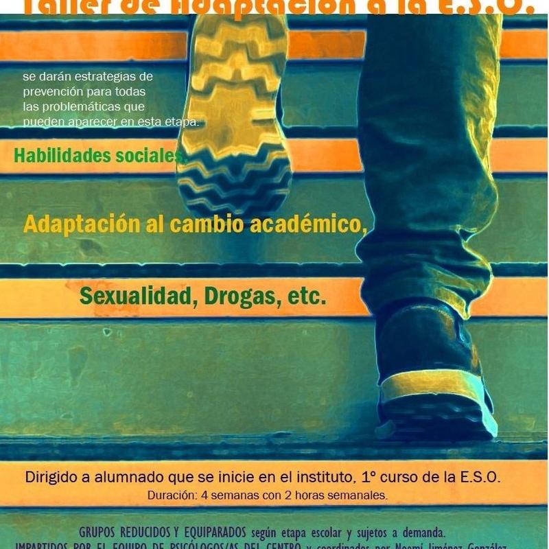 Talleres y Charlas: ¿QUÉ SERVICIOS OFRECEMOS? de APSI-Centro de Aplicaciones Psicológicas