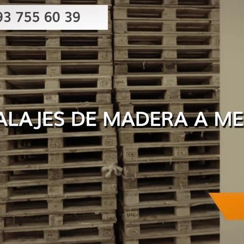 Compra venta de palets El Maresme | Embalajes Vera