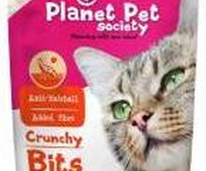 Planet Pet Snacks para gato contra la acumulación de bolas de pelo