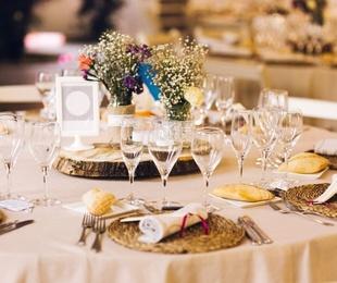 Celebración de bodas en un restaurantes con encanto
