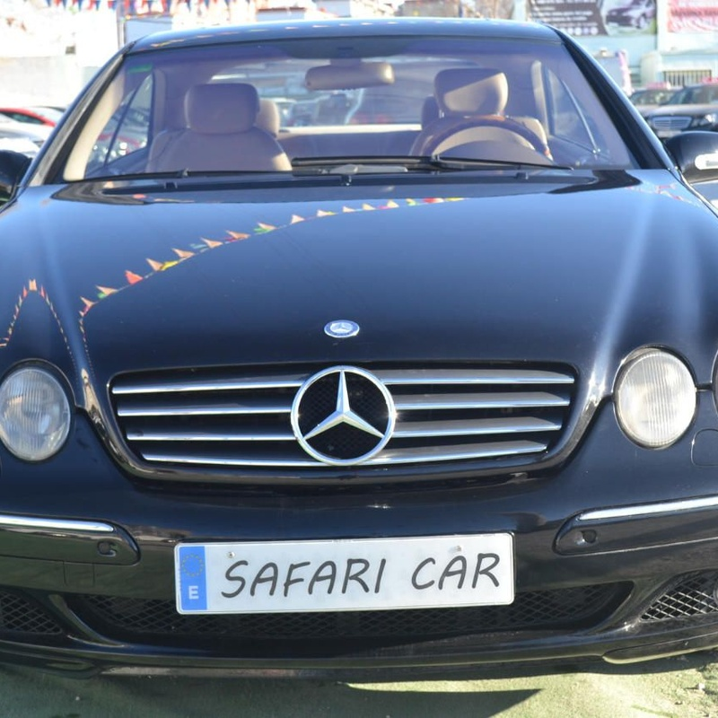 Mercedes-Benz CL 500: Nuestros coches de Safari Car