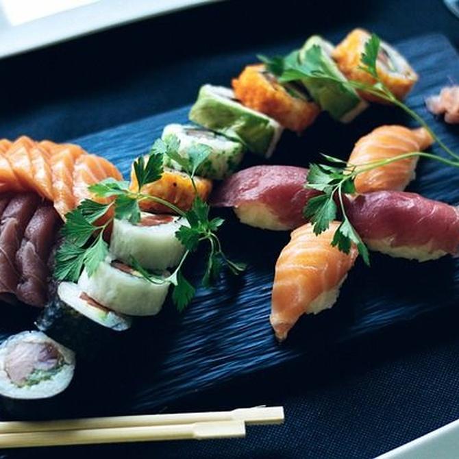 Conoce los distintos tipos de sushi