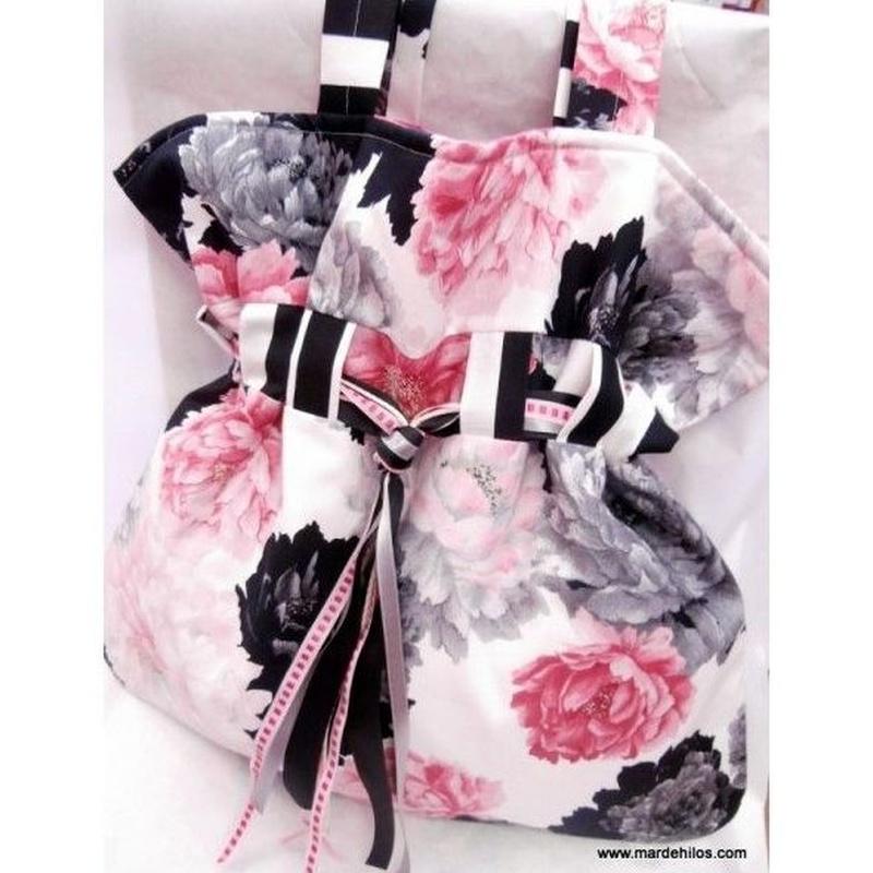 Bolso saco de flores: Productos de Mar de Hilos