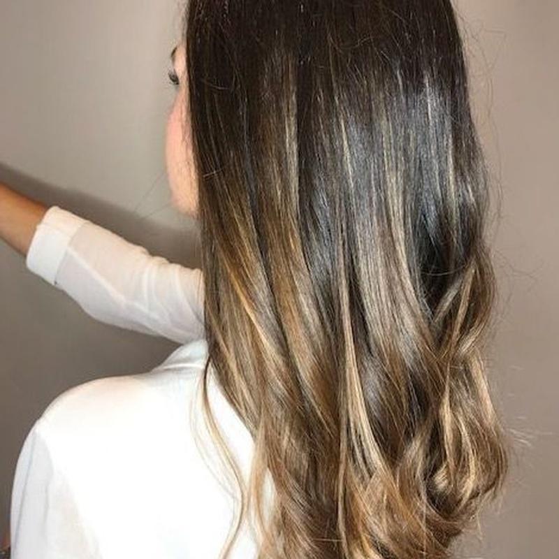 Balayage caramelo: Servicios de peluquería de Sonia Atanes