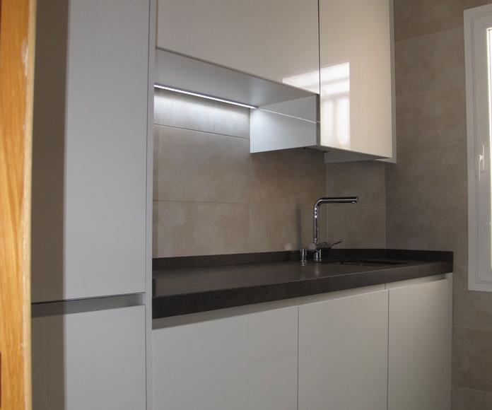 Diseños Cocinas MC Proyecto Realizado en Carabanchel MADRID: PROYECTOS REALIZADOS de Diseño Cocinas MC