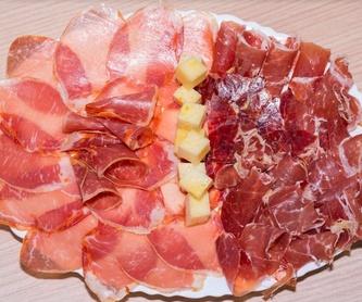 Segundos platos: Especialidades de Asador La Bolera