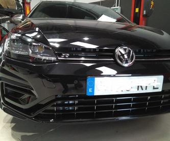 Restauración de tapiceria piel - Tela - Volantes: Servicios de Garatge Veyrone G3
