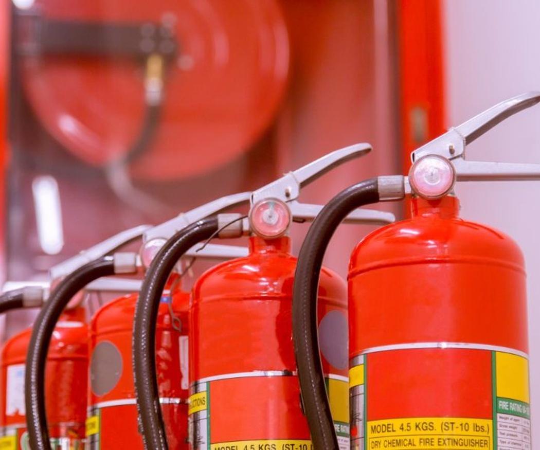El por qué del color rojo en los extintores