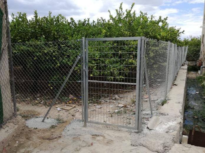 Cerramiento de vallado de fincas rústicas