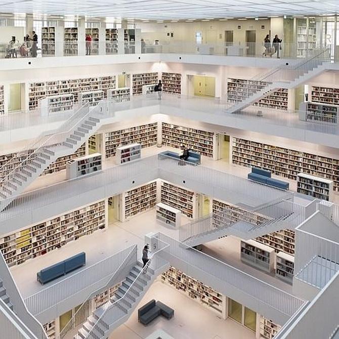 Las cinco librerías más famosas de mundo