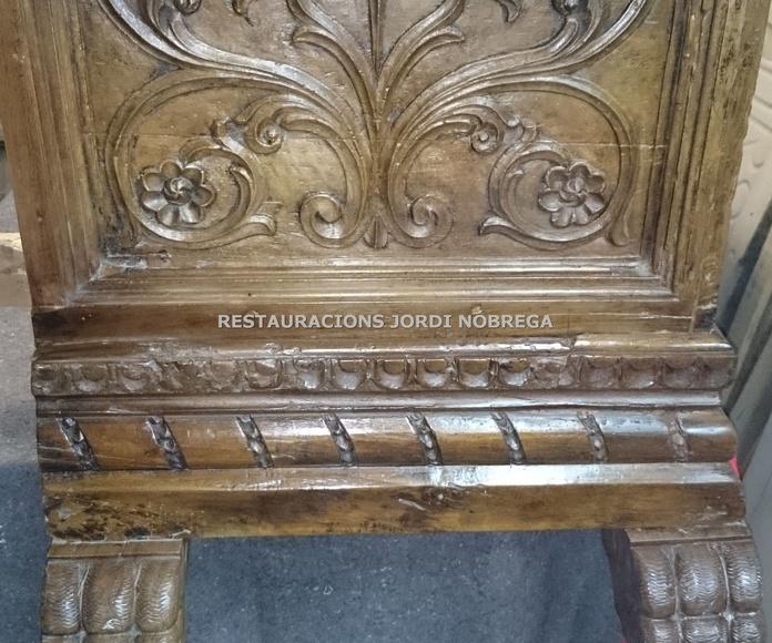 Arreglo arca en Barcelona