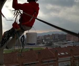Excelentes trabajos en suspensión en el eixample de Barcelona