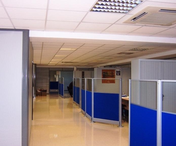 Edificación industrial: Servicios de SEOP